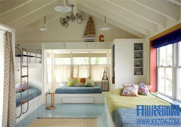 创意抬头即见,儿童房天花板设计案例分享