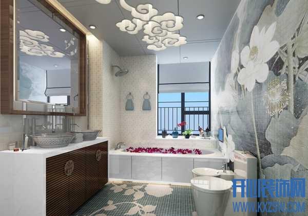 中式卫生间技巧设计,突显古香古色的中式卫生间风情