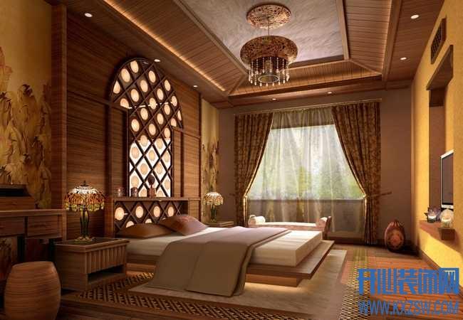 用东南亚风格实木家具打造异域风情的东南亚家装