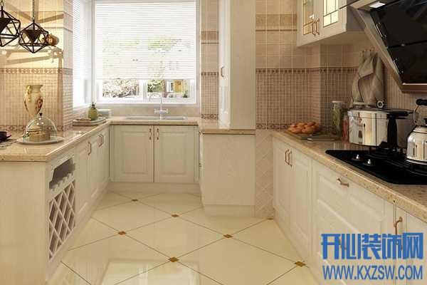 厨卫装修DIY秘诀之地面瓷砖选择