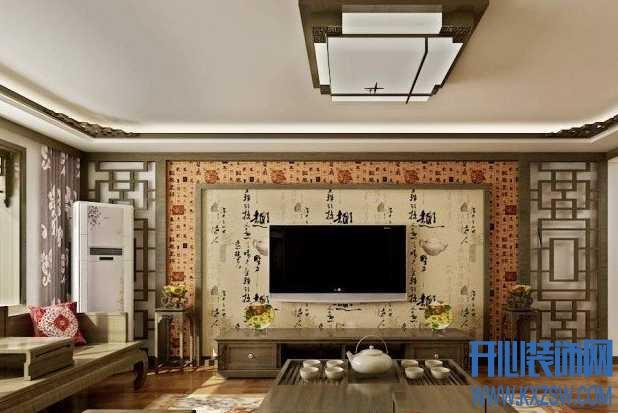 中式电视背景墙设计攻略,打造古典中式背景墙