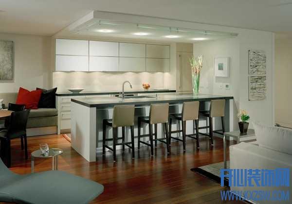 餐厅和厨房如何融洽相处,厨娘如何衔接这两块空间风水呢?