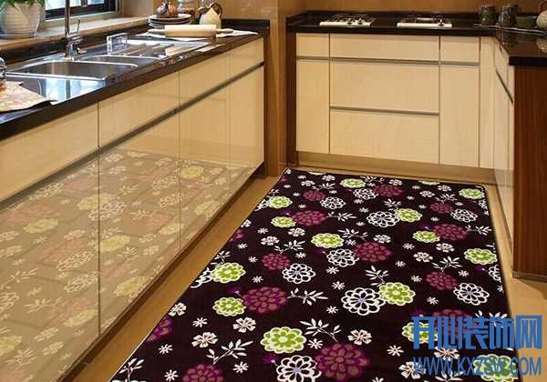 """地毯""""入""""厨房,如何发挥出装饰与清洁的效果,这些小细节要掌握"""