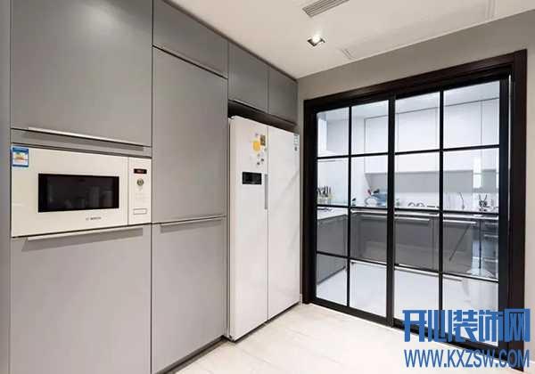 厨房移门尺寸怎么定?厨房推拉门有哪些样式?怎么选材料