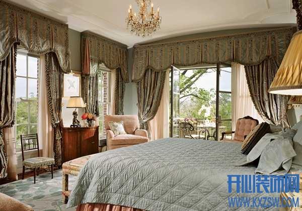 美式布艺窗帘的搭配技巧,看美式家居如何妆点窗前美景