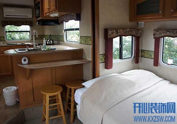 一个移动的家,实现梦想中的环球旅行,房车家具该怎么布置?
