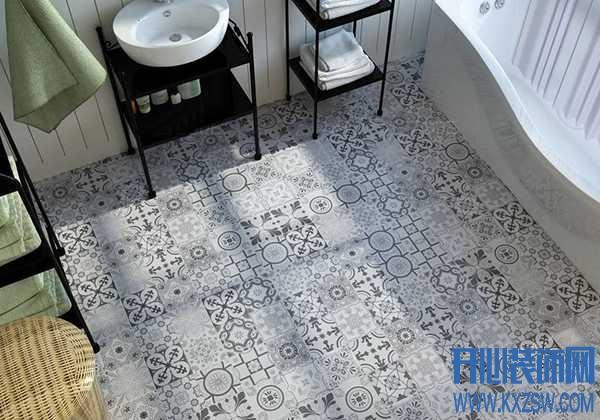 墙面和地面的花砖怎么搭配好看?卫生间的花砖怎么贴好看