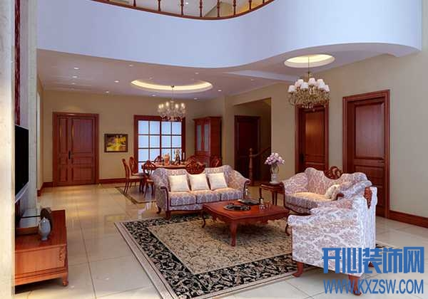 欧式客厅地毯效果图分享当下热门的欧式客厅地毯款式
