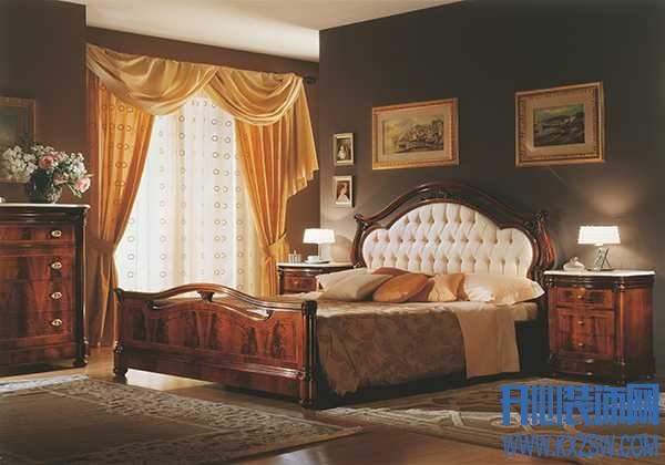 新古典卧室背景墙怎么装?自带优雅气质的新古典卧室背景墙欣赏