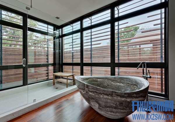 土豪们的那些顶级浴室设计赏析,感叹这样的家才是家