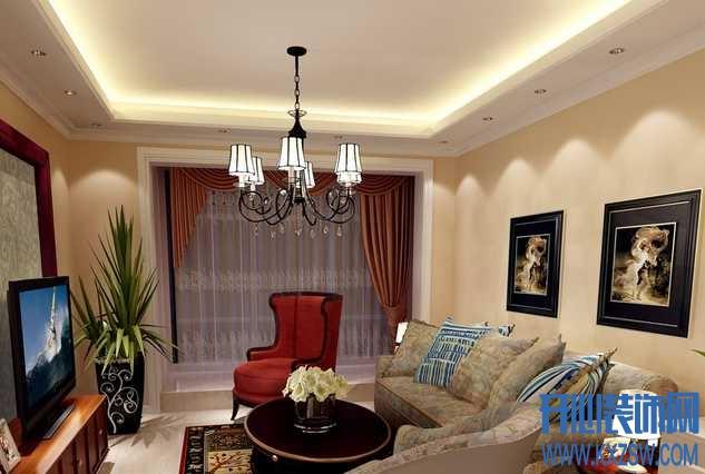 客厅吊顶常见的几大误区,几招助您打造健康时尚客厅吊顶