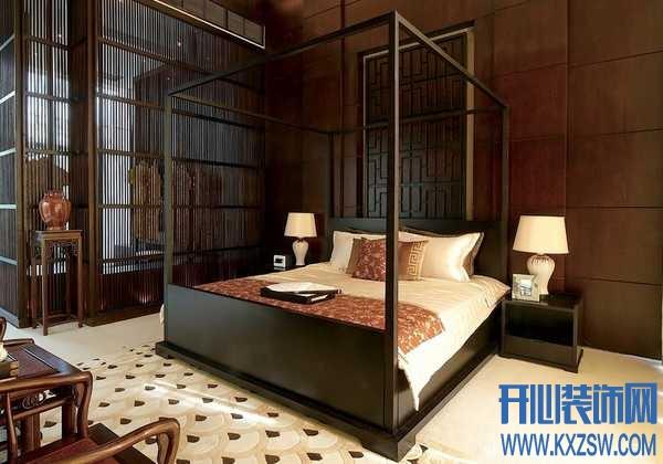 中式实木床的品类特征,营造卧室中的中式风情