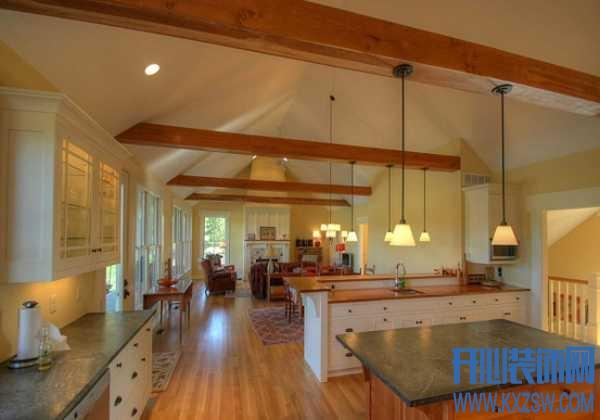 叫人时时向往的美式乡村风格厨房,复古而闲适的舒服