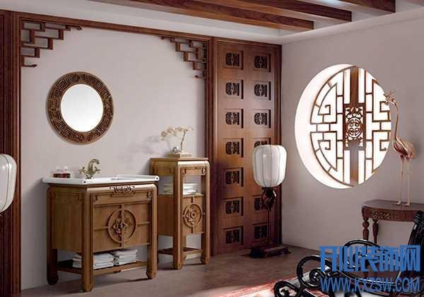 中式浴室柜好用吗,最新中式浴室柜装饰及效果展示
