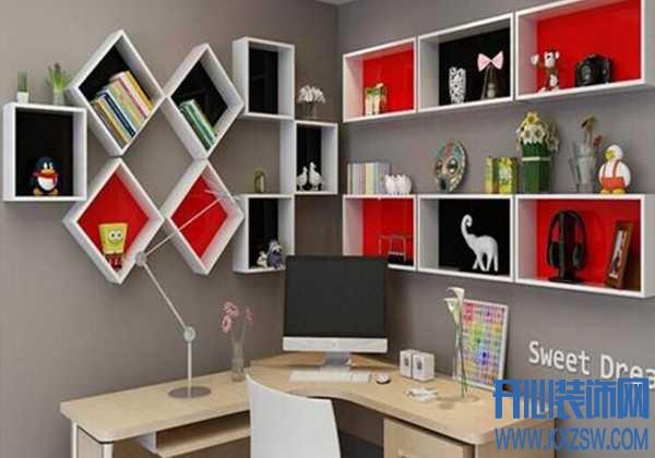 小户型搁板壁挂置物架的用途有哪些?烤漆类置物架的有哪些款式?适合放置在什么房间中?