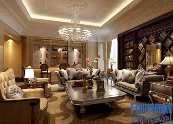 不可不学的欧式客厅吸睛术,教你打造不一样的欧式客厅装修