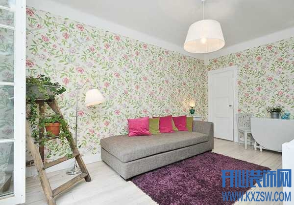 混搭家居如何巧用墙纸,赏析混搭风格墙纸效果图美感不可少