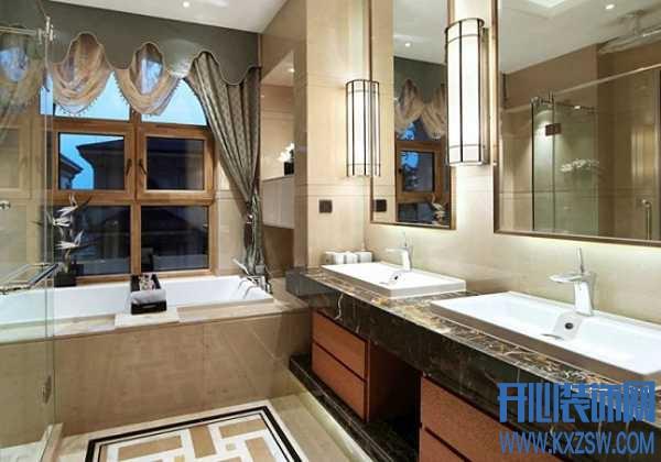 新中式卫生间墙砖设计,游走在现代与古典间的中式卫生间赏析