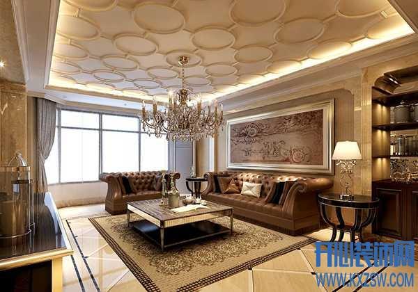 华丽的居室之美,新古典风格赋予家不一样的古典体会
