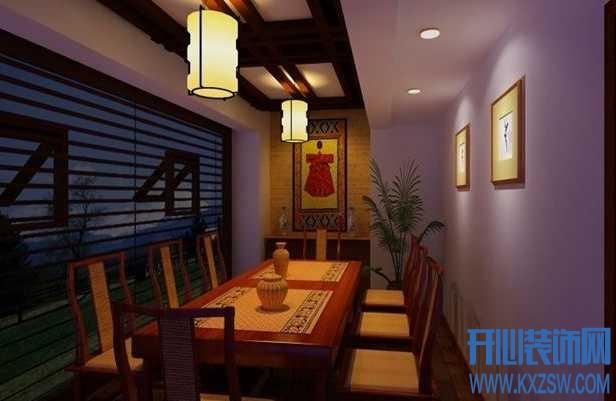中式餐厅家具的那些事,从布局和种类来看中式餐厅家具
