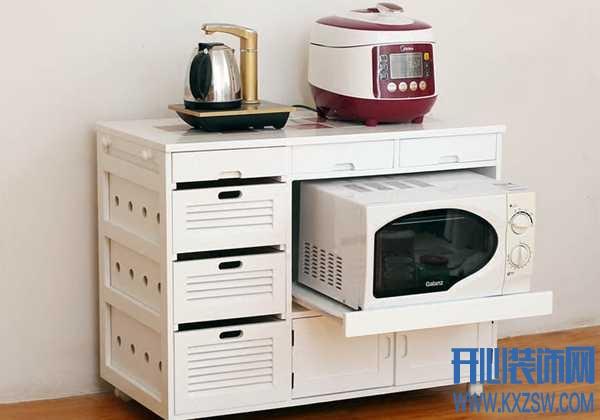 充满自由、欢乐的厨房布置,一定有个合理的电器柜设计