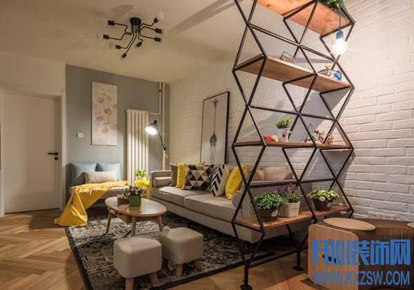 2室一厅的小户型跟书房无缘?一张沙发椅就是一个书房