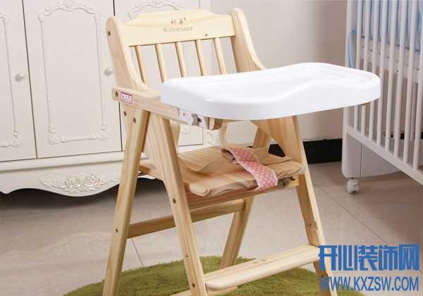 各式各样的实木儿童餐椅,选对品牌很重要