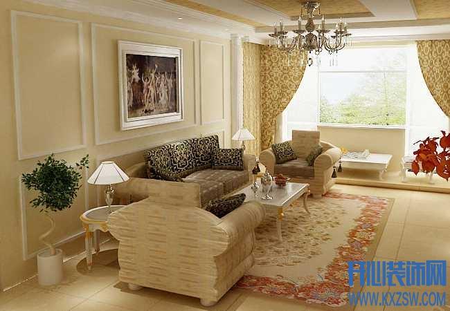 欧式风格打造单身公寓,让你拥有贵族般的生活感受