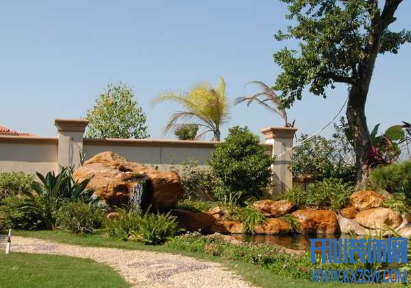 从风水学上来讲,庭院要怎样设置假山流水?