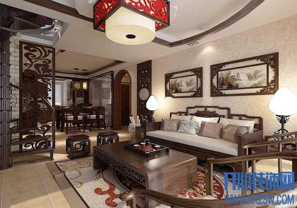 赏大气中式古典装修样板房,析中式古典风的独特曼妙之处