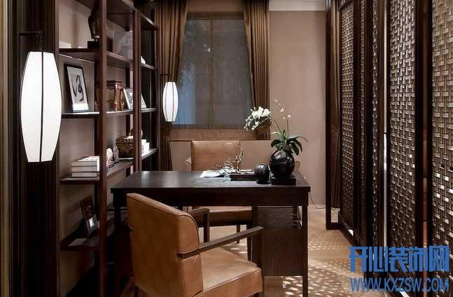中式家装潮流空间之新中式风格书房,解析新中式书房设计精粹