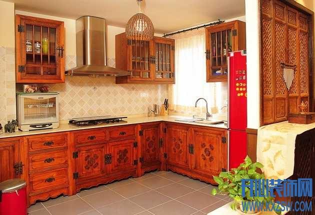 纯正东南亚厨房案例,体验东南亚的自然原始风情