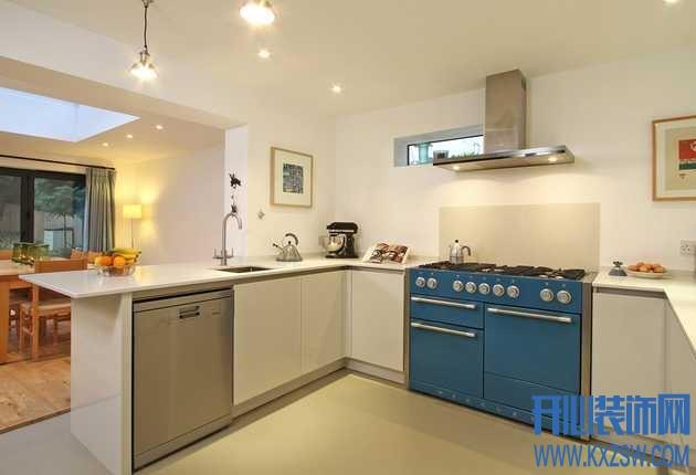 现代简约厨房装修要点总结,看看实用美观的现代厨房