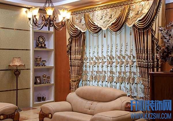 欧式风格窗帘图片分享,参透欧式窗帘的选购技巧