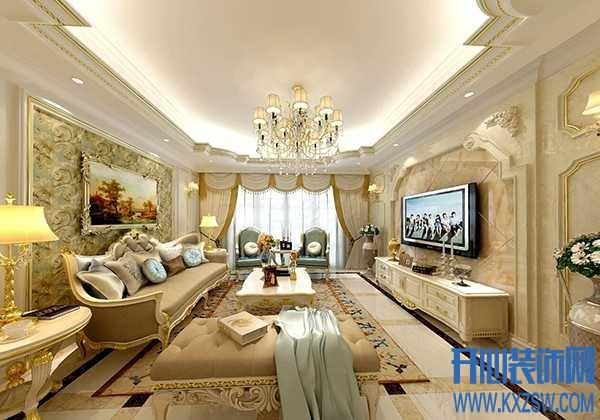 浪漫奢华的法式风格让家装更具魅力,在装修时要注意那些细节?