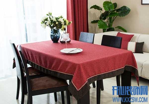餐桌布搭配有技巧,餐桌布艺颜色风水大全