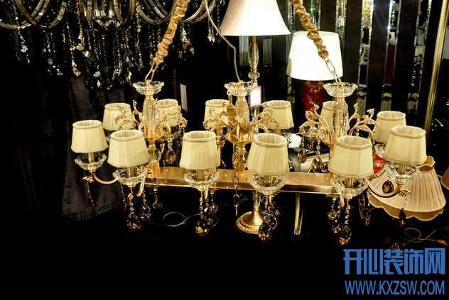 欧式风格灯饰布局秘诀,说说欧式风格灯具的种类和搭配