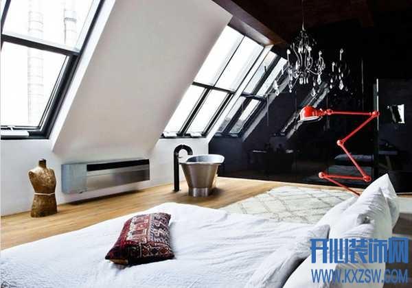 阁楼另一种全新设计,渲染工业风的简单粗暴