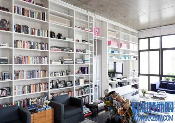 家居装修改造小妙招之客厅改书房的经典演绎