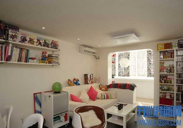 现代简约小户型客厅的完美定格,享受现代简约打造的自由空间