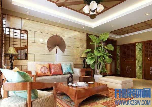 东南亚家装大公开,分享不同区域的东南亚居室装修效果