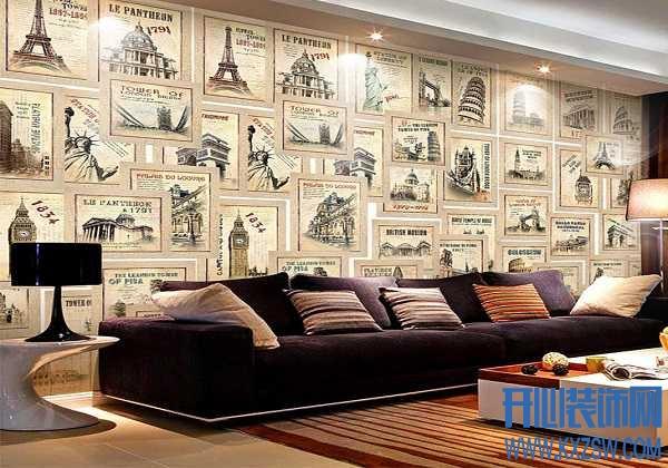 打造最潮最in的欧式沙发背景墙,潮流欧式客厅的吸睛典范