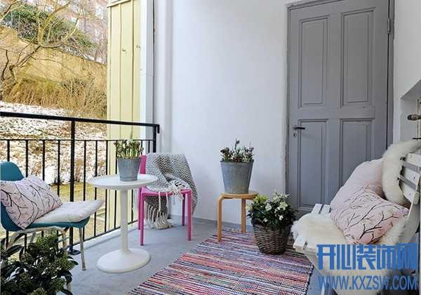 美而不过时的宜家风格阳台装修,打造别有韵味的惬意时光
